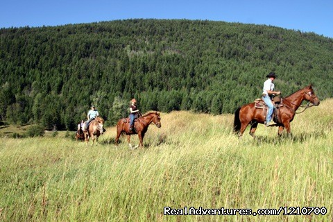 Relaxing riding - Guest / Dude Ranch in British Columbia, Canada