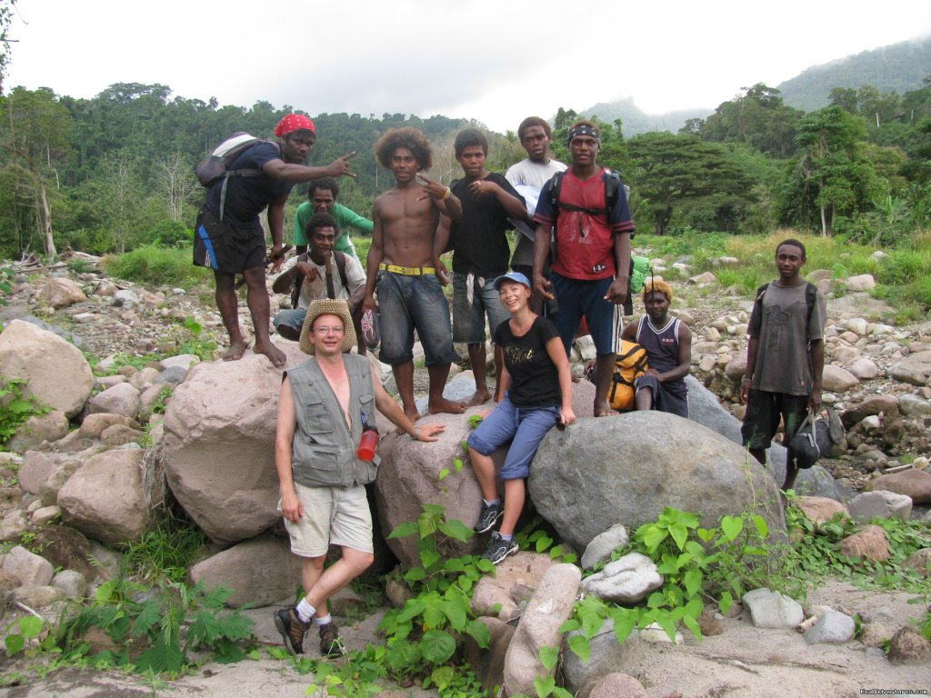 |Shot time after a hiking trip | Image #4/14 | Villagestay & Trekking in Solomon Islands.