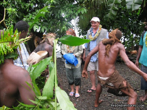 Enacting Warriors - Villagestay & Trekking in Solomon Islands.