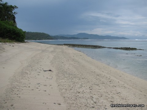 Manga beach - Villagestay & Trekking in Solomon Islands.