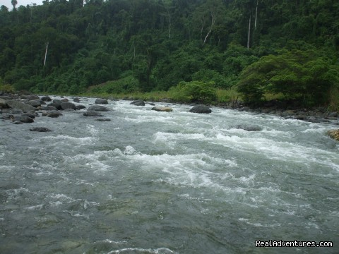 Tina river, Central Guadalcanal - Villagestay & Trekking in Solomon Islands.