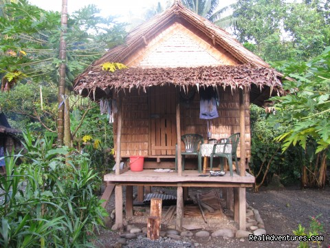Villagestay & Trekking in Solomon Islands.: Single room lodge, Village Stay