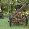 Japanese WWII machine gun, Guadalcanal Is