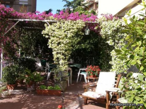 The Terrace - B&B Naples Italy Last Minute La Bouganville