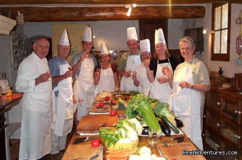 Having fun in the kitchen - Cooking courses. Wine tours. Culinary adventures.