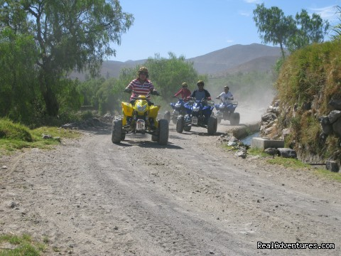 Quad Bike Tours In Peru