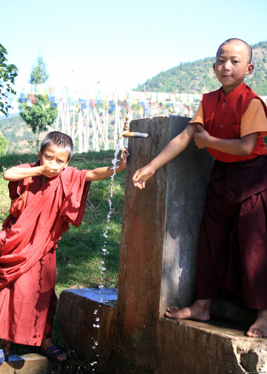 Small Monks | Image #12/15 | Beautiful Bhutan