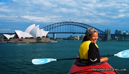 Kayaking Sydney Harbour Bridge Lunch Tour
