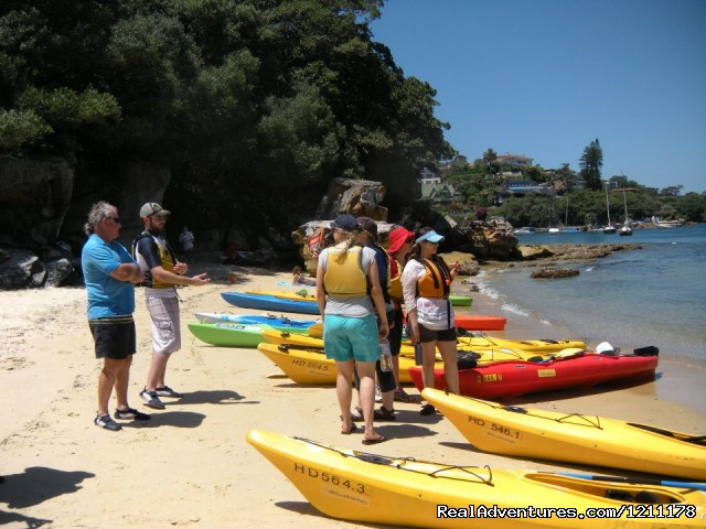 Sydney Harbour Lunch Kayak - Kayaking Sydney Harbour Bridge Lunch Tour
