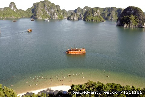 Ha Long Adventure Cruise - Vic Indochina Travel -Vietnam Daily Tours Groups