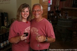 Glacial Ridge Winery Wine Tasting Spicer, Minnesota