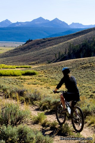 Biking on the Idaho Rocky Mountain Ranch - Idaho Rocky Mountain Ranch