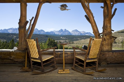 Relaxation Ranch Style  - Idaho Rocky Mountain Ranch