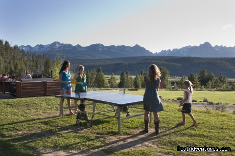 Ping-Pong! - Idaho Rocky Mountain Ranch