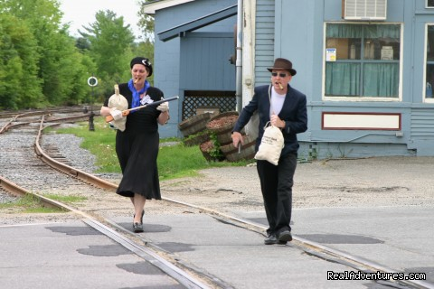 Bonnie and Clyde (#8 of 25) - Green Mountain Railroad- Route of the Flyers