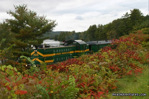 Green Mountain Railroad- Route of the Flyers Welcome Aboard the Green Mountain Railroad!