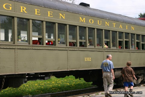 Father's Day Trip - Green Mountain Railroad- Route of the Flyers