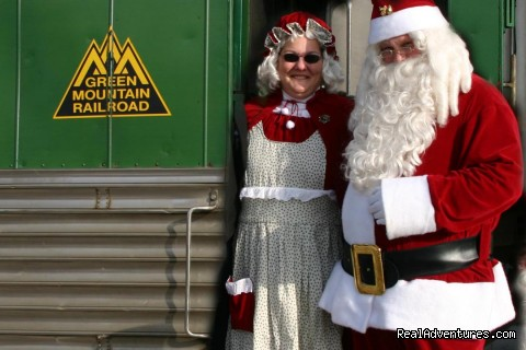 Santa Express (#24 of 25) - Green Mountain Railroad- Route of the Flyers