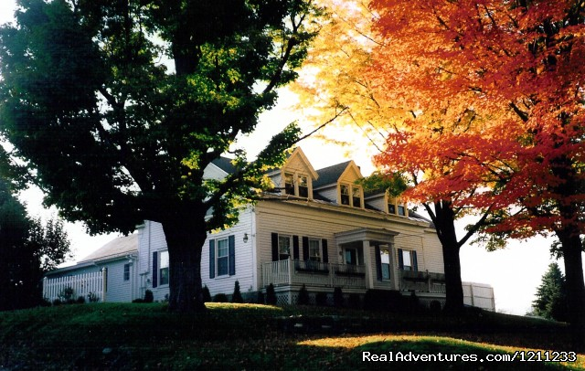 Relaxing Vermont Getaway at the Alexandra B&B Inn: