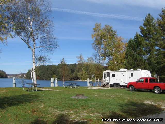 Lakeside Camping Campgrounds & RV Parks Island Pond, Vermont