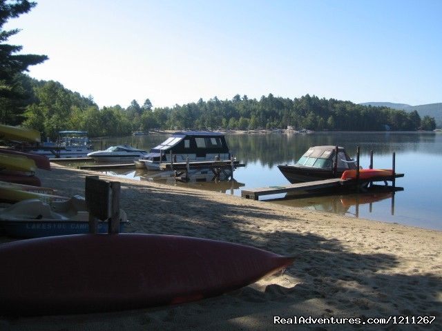 Boat Docks & Beach (#3 of 4) - Lakeside Camping
