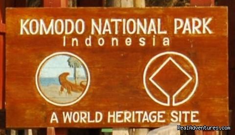 Komodo Hotels online booking Komodo Sign Board