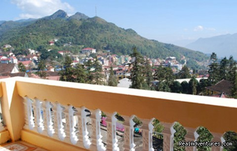 Views from Sapa Starlight hotel's balcony (#2 of 12) - Sapa Starlight Hotel