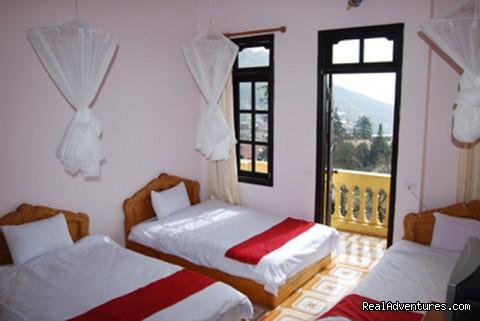 Sapa Starlight triple standard room (#11 of 12) - Sapa Starlight Hotel