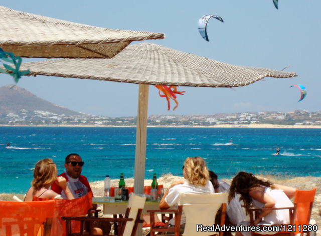 Kitesurf and Windsurf Getaways in Naxos - Greece