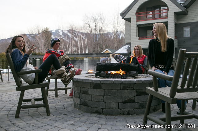 Firepit - Killington Mountain Lodge