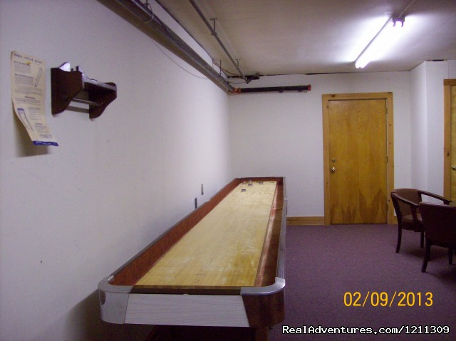 Shuffleboard Table (#15 of 21) - The Chalet Motel