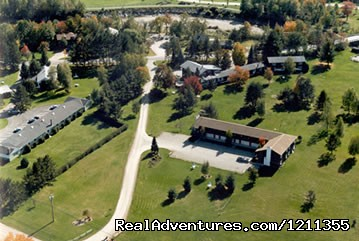 arial view - Stowe Motel & Snowdrift