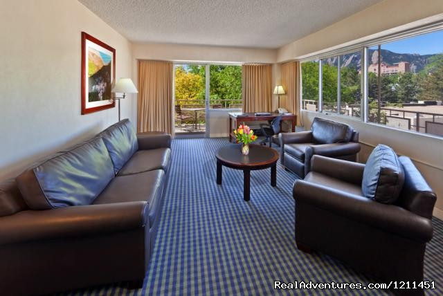 Executive King Suite - Millenium Harvest House Boulder