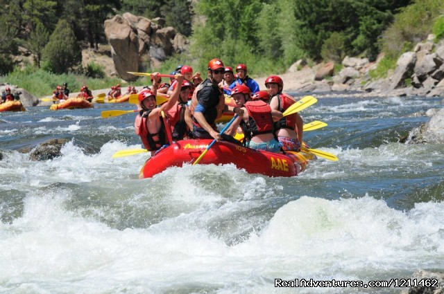 American Adventures Whitewater Rafting