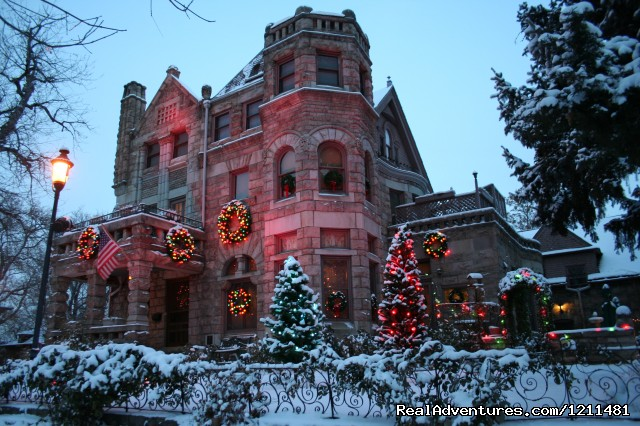 Castle Marne at Christmas time (#10 of 15) - Historic Victorian Castle Marne Bed & Breakfast
