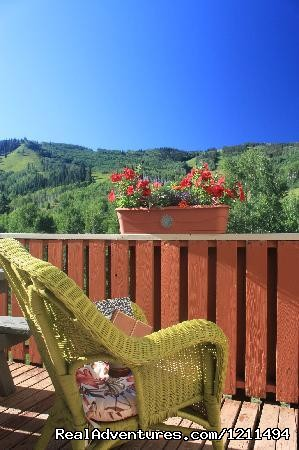 Relaxation at its best.  - Sunlight Mountain Inn