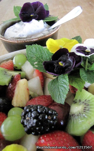 Fresh Fruit at Breakfast (#7 of 9) - Craig Ranch Bed & Breakfast & Horse Motel