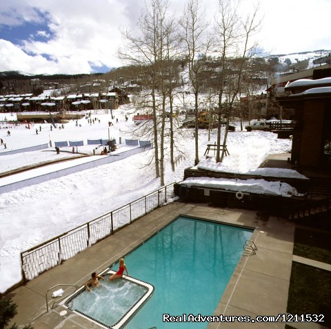 Ski lodge, pool side - Snowmass Mountain Chalet