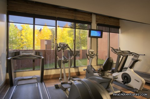 On-site Fitness Room - Vail Spa Condominiums