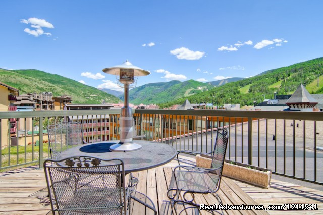 View from the Vail Spa Penthouse - Vail Spa Condominiums
