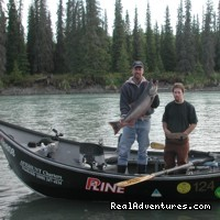 Kasilof River fishing by drift boat also available (#5 of 15) - Alaskan Angler RV Resort, Cabins & Charters