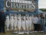 Charters depart from and return to the RV Resort - Alaskan Angler RV Resort, Cabins & Charters