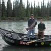 Kasilof River fishing by drift boat also available