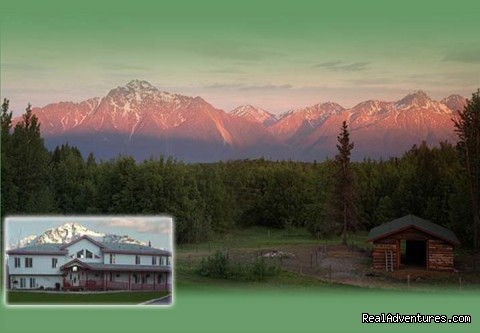 The view from most every room - Alaska's Harvest Bed & Breakfast