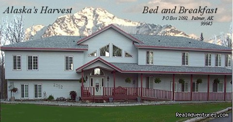 Alaska's Harvest B&B, front view - Alaska's Harvest Bed & Breakfast