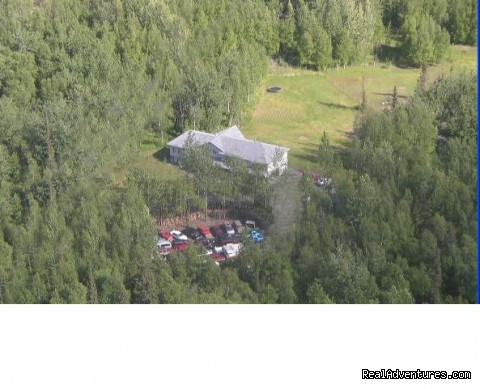 Alaska's Harvest B&B, aerial view - Alaska's Harvest Bed & Breakfast