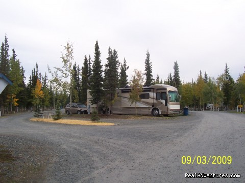 RV sites - Tok RV Village, Inc.