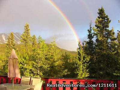 Rainbows - Denali Perch Resort