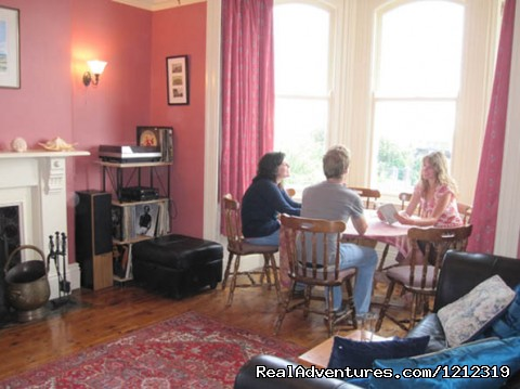 guest lounge/living room - Downhill Beach Retreat