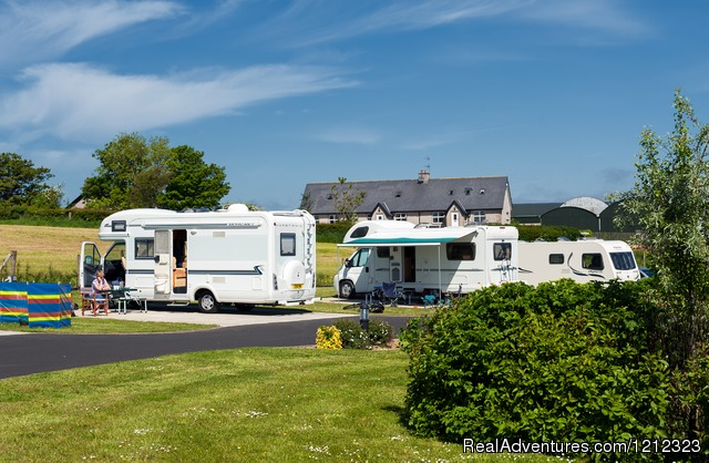 Ballyness Caravan Park: Motorhomes at Ballyness